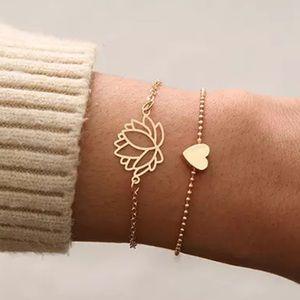 LOTUS ♡ Layered Bracelet GIFT